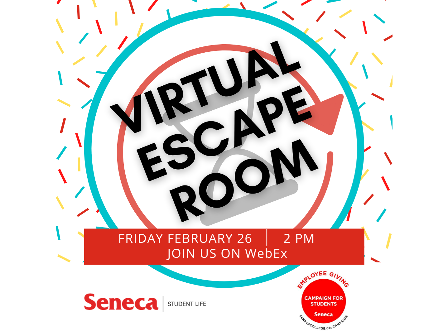 Virtual Escape Room presented by Student Services