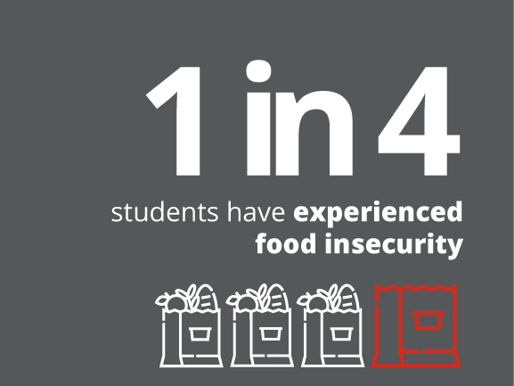 Help alleviate food insecurity with a gift to Campaign for Students