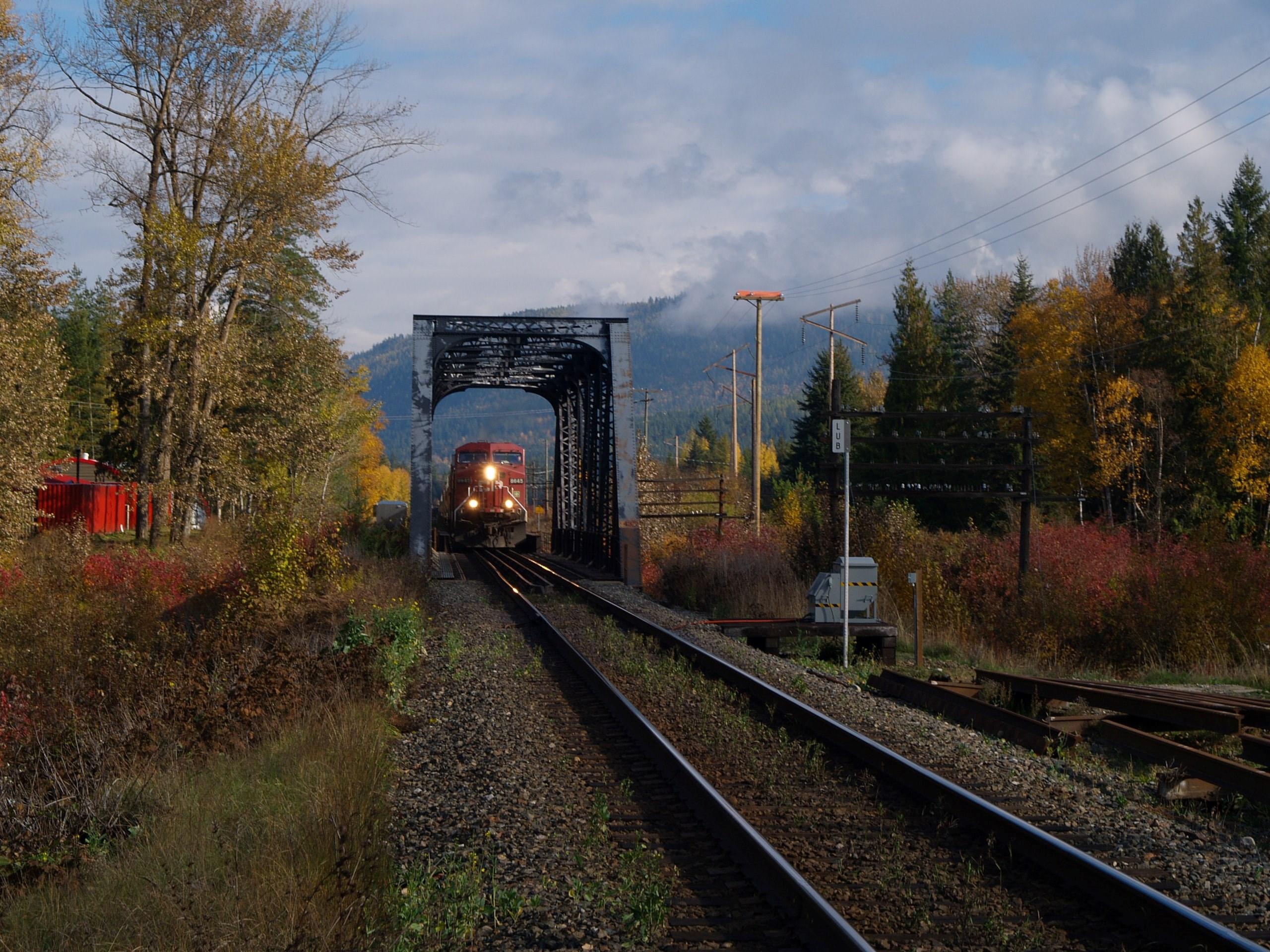 Canadian train journeys