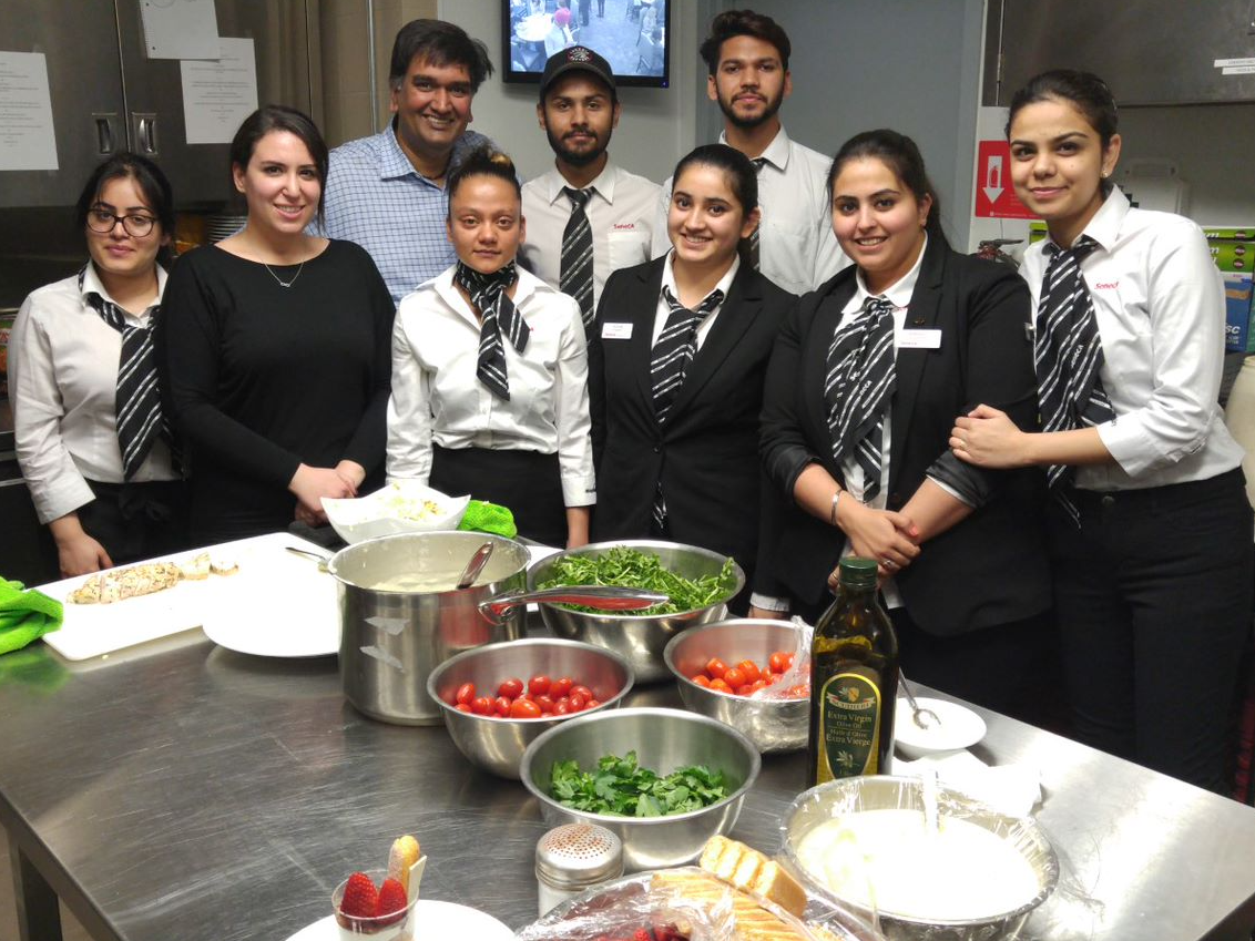 Throwback Thursday to the School of Hospitality and Tourism Lunches.