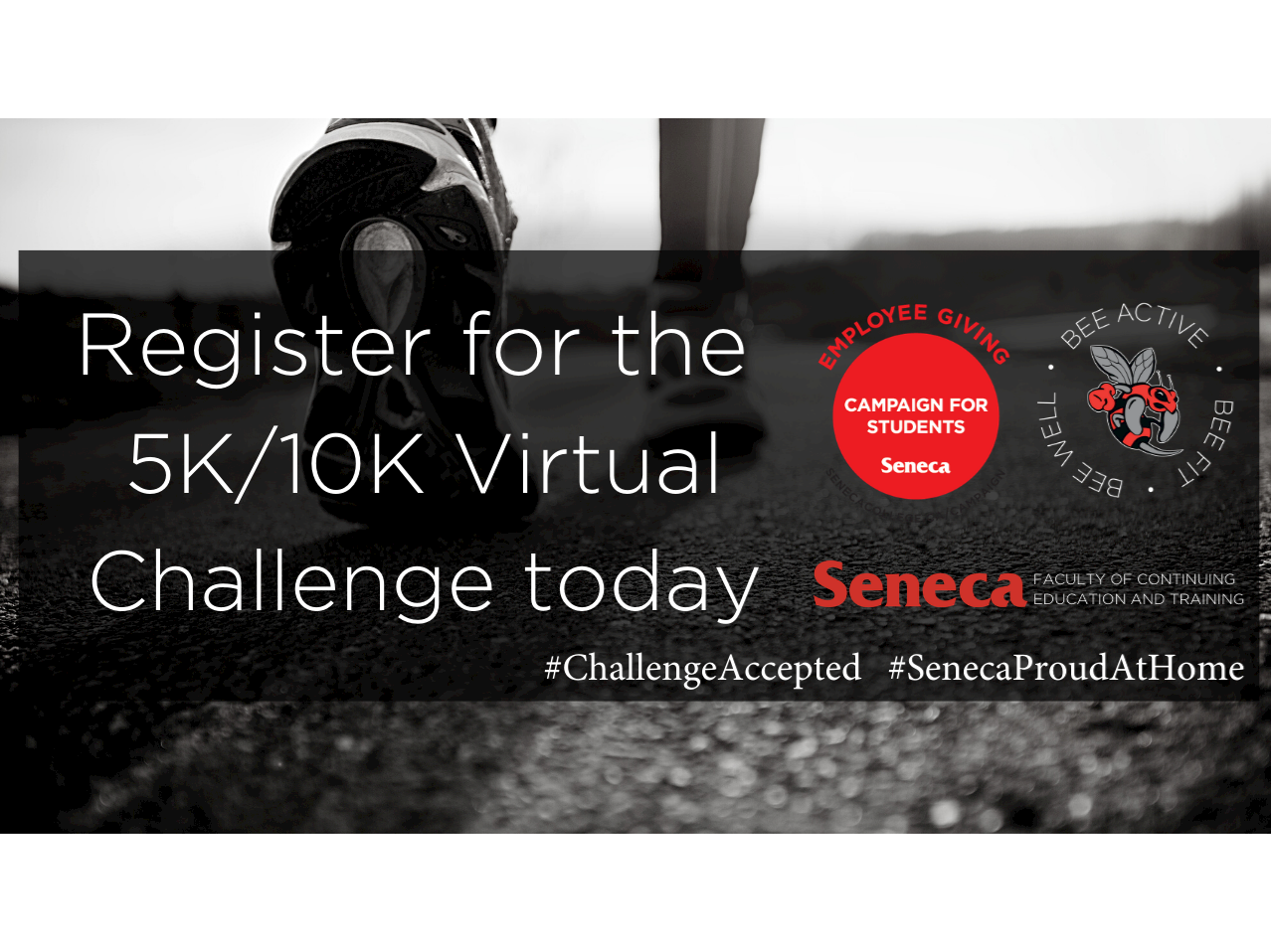 Accept the 5K/10K Virtual Challenge Today