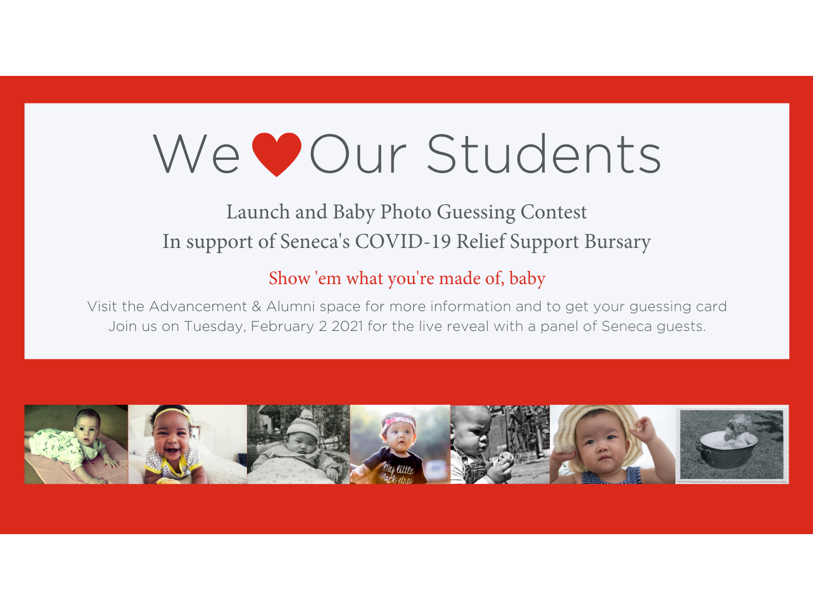 2021 We Love Our Students Month Launch