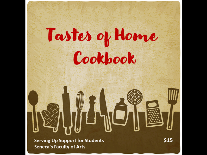 The Faculty of Arts Tastes of Home Cookbook
