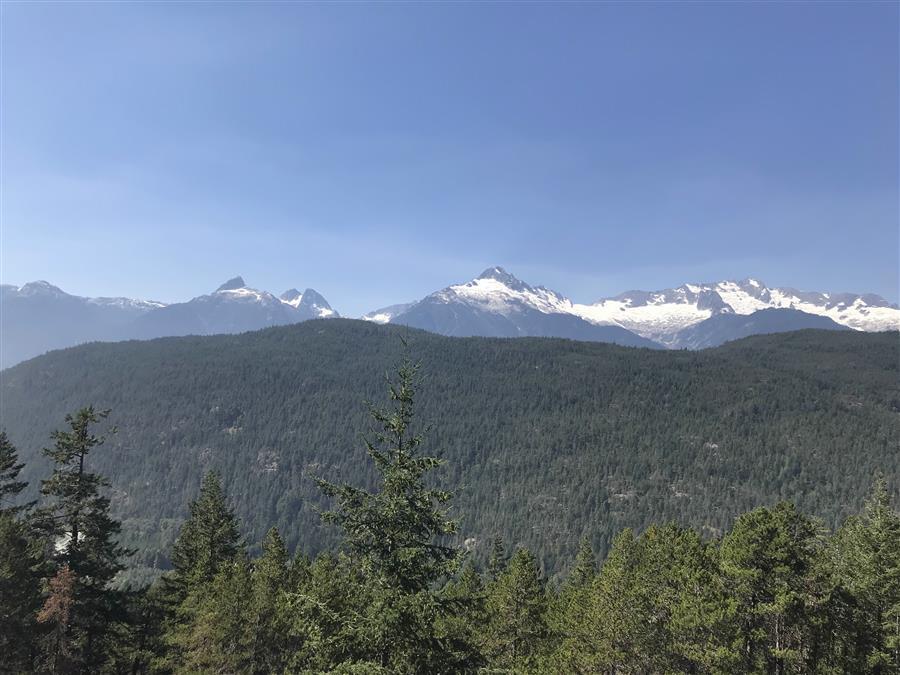 Squamish Mountain Range