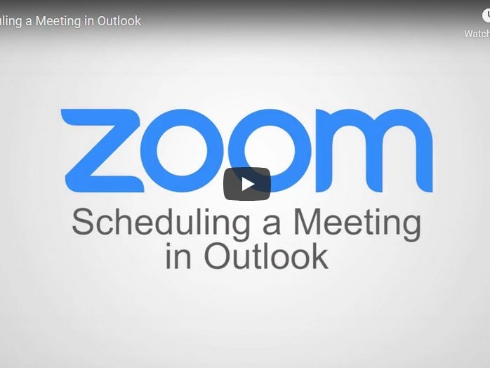 Scheduling a Meeting with Outlook