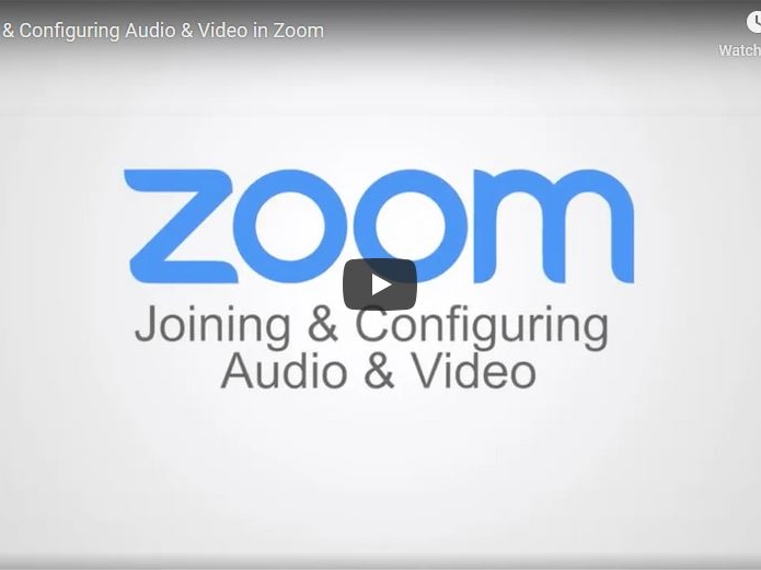 Joining and Configuring Audio and Video