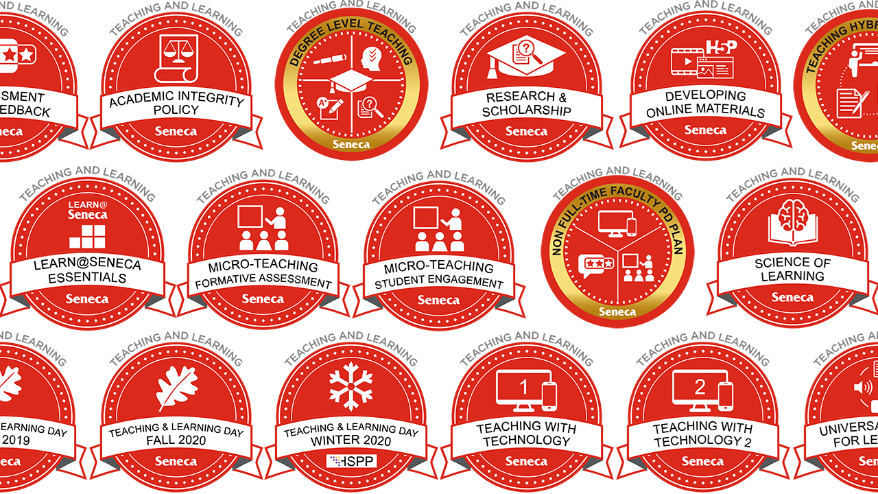a collage of micro-credentials
