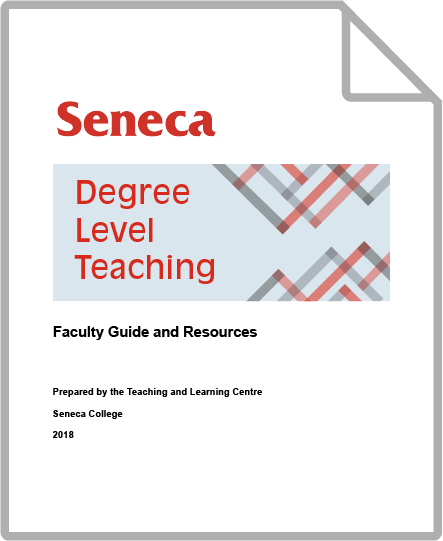 Degree Level Teaching Guide thumbnail