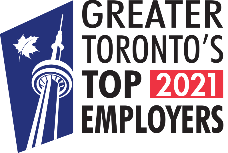 Greater Toronto Area Top Employer Award 2021